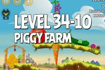 Angry Birds Piggy Farm Level 34-10 Walkthrough
