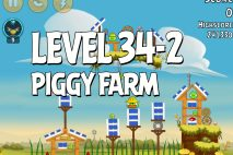 Angry Birds Piggy Farm Level 34-2 Walkthrough