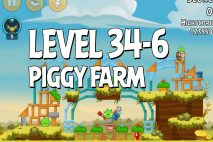 Angry Birds Piggy Farm Level 34-6 Walkthrough