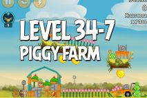 Angry Birds Piggy Farm Level 34-7 Walkthrough