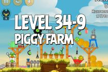 Angry Birds Piggy Farm Level 34-9 Walkthrough