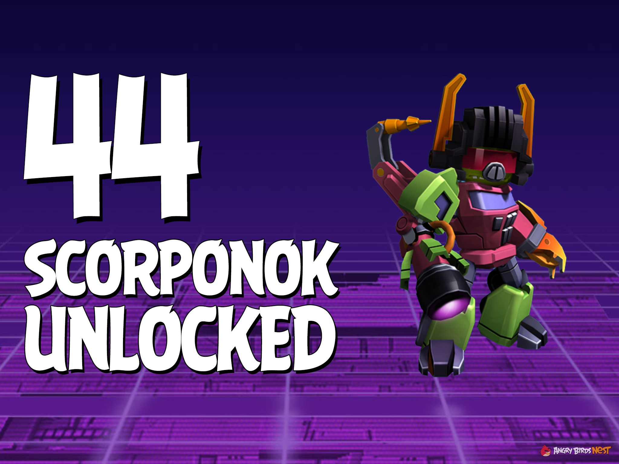 Let's Play Angry Birds Transformers | Part 44 | Scorponok ...