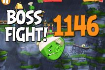 Angry Birds 2 Boss Fight Level 1146 Walkthrough – Cobalt Plateaus Twin Beaks