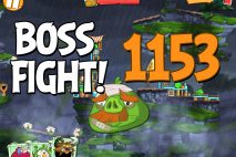 Angry Birds 2 Boss Fight Level 1153 Walkthrough – Cobalt Plateaus Twin Beaks