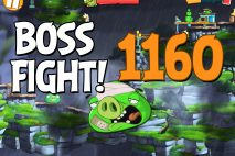 Angry Birds 2 Boss Fight Level 1160 Walkthrough – Cobalt Plateaus Twin Beaks