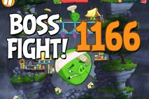 Angry Birds 2 Boss Fight Level 1166 Walkthrough – Cobalt Plateaus Twin Beaks