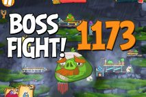 Angry Birds 2 Boss Fight Level 1173 Walkthrough – Cobalt Plateaus Twin Beaks