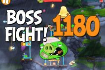 Angry Birds 2 Boss Fight Level 1180 Walkthrough – Cobalt Plateaus Twin Beaks