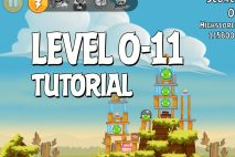Angry Birds Tutorial Level 0-11 Walkthrough