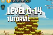 Angry Birds Tutorial Level 0-14 Walkthrough