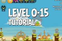 Angry Birds Tutorial Level 0-15 Walkthrough