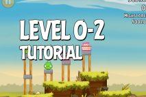 Angry Birds Tutorial Level 0-2 Walkthrough