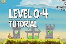 Angry Birds Tutorial Level 0-4 Walkthrough