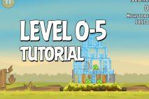 Angry Birds Tutorial Level 0-5 Walkthrough