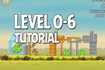 Angry Birds Tutorial Level 0-6 Walkthrough