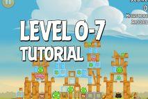 Angry Birds Tutorial Level 0-7 Walkthrough