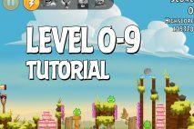 Angry Birds Tutorial Level 0-9 Walkthrough