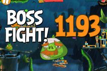 Angry Birds 2 Boss Fight Level 1193 Walkthrough – Bamboo Forest Hog Warts