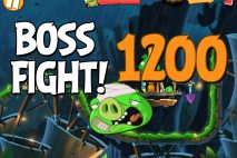 Angry Birds 2 Boss Fight Level 1200 Walkthrough – Bamboo Forest Hog Warts