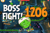 Angry Birds 2 Boss Fight Level 1206 Walkthrough – Bamboo Forest Hog Warts