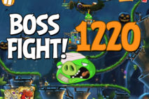Angry Birds 2 Boss Fight Level 1220 Walkthrough – Bamboo Forest Hog Warts