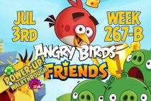 Angry Birds Friends 2017 Tournament 267-B On Now!