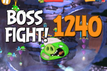 Angry Birds 2 Boss Fight Level 1240 Walkthrough – Cobalt Plateaus Piggymanjaro