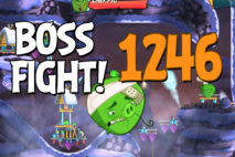 Angry Birds 2 Boss Fight Level 1246 Walkthrough – Cobalt Plateaus Piggymanjaro