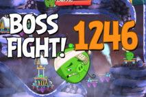 Angry Birds 2 Boss Fight Level 1246 Walkthrough – Cobalt Plateaus Piggymanjaro