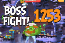 Angry Birds 2 Boss Fight Level 1253 Walkthrough – Cobalt Plateaus Piggymanjaro