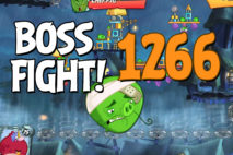 Angry Birds 2 Boss Fight Level 1266 Walkthrough – Pig City Porkyo