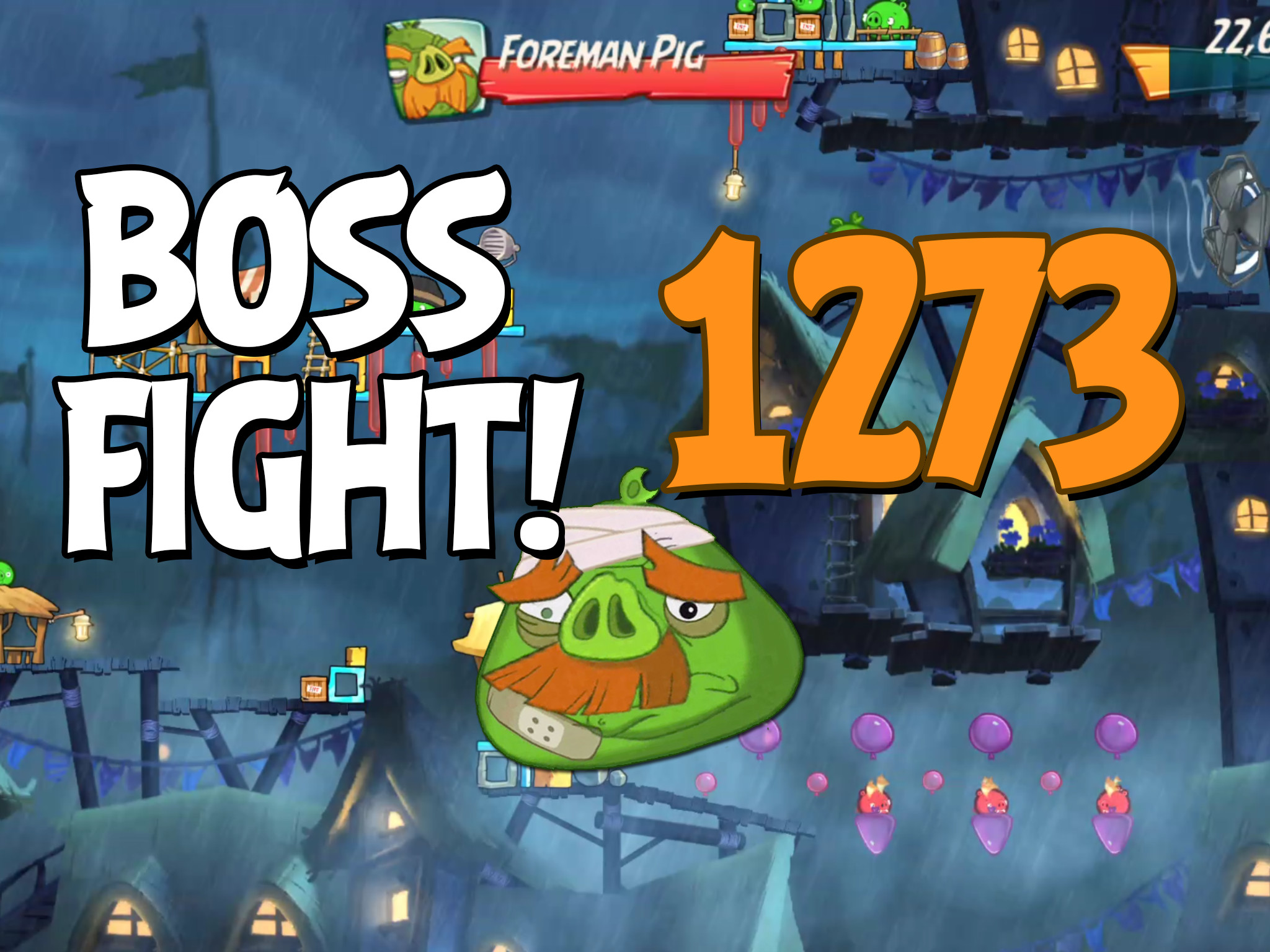 Angry Birds 2 Boss Fight Level 1273
