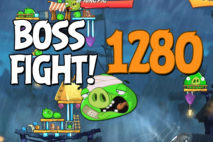 Angry Birds 2 Boss Fight Level 1280 Walkthrough – Pig City Porkyo