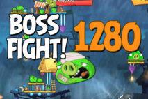 Angry Birds 2 Boss Fight Level 1280 Walkthrough – Pig City Porkyo