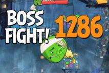Angry Birds 2 Boss Fight Level 1286 Walkthrough – Pig City Porkyo