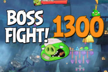 Angry Birds 2 Boss Fight Level 1300 Walkthrough – Pig City Porkyo