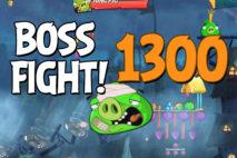 Angry Birds 2 Boss Fight Level 1300 Walkthrough – Pig City Porkyo