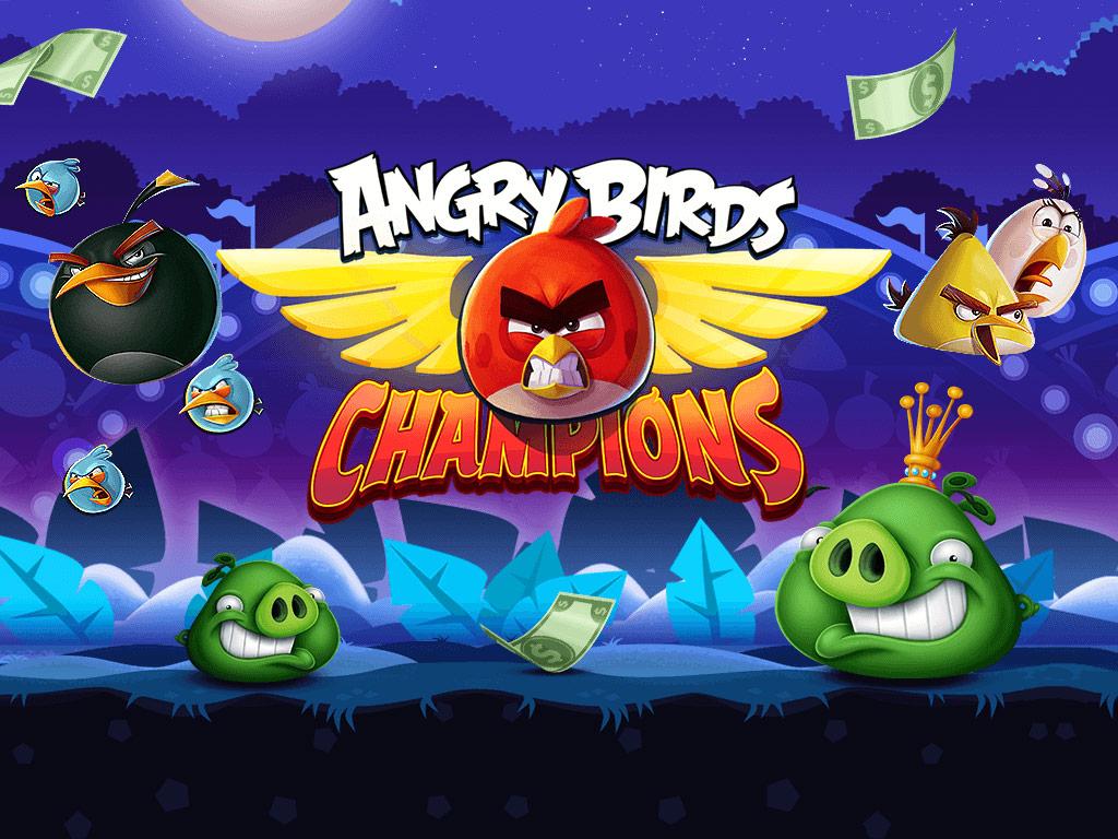 NEW! Angry Birds Champions Game Debuts on WorldWinner