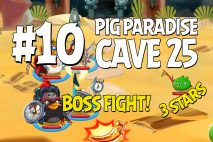 Angry Birds Epic Pig Paradise Level 10 Walkthrough | Chronicle Cave 25
