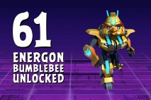 Let's Play Angry Birds Transformers | Part 61 | Energon Bumblebee