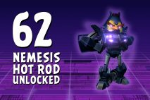 Let's Play Angry Birds Transformers | Part 62 | Nemesis Hot Rod