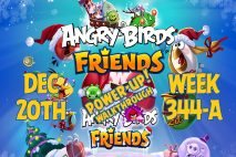 Angry Birds Friends 2018 Tournament 344-A On Now!
