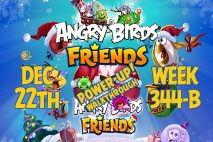 Angry Birds Friends 2018 Tournament 344-B On Now!