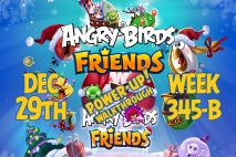 Angry Birds Friends 2018 Tournament 345-B On Now!