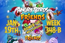 Angry Birds Friends 2019 Tournament 348-B On Now!