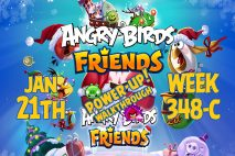 Angry Birds Friends 2019 Tournament 348-C On Now!