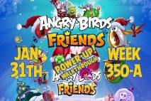 Angry Birds Friends 2019 Tournament 350-A On Now!