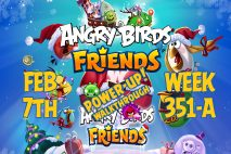 Angry Birds Friends 2019 Tournament 351-A On Now!
