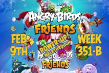 Angry Birds Friends 2019 Tournament 351-B On Now!