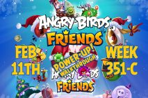 Angry Birds Friends 2019 Tournament 351-C On Now!
